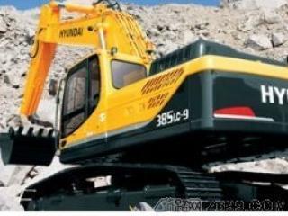 现代R385LC-9挖掘机