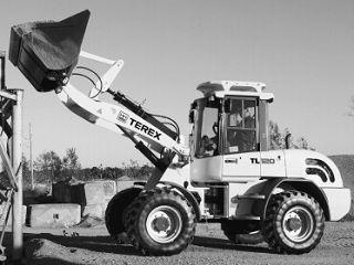 特雷克斯 TL120 装载机
