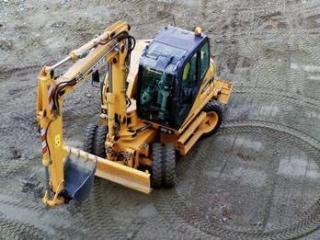 凯斯 WX95 挖掘机