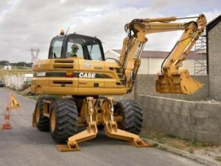 凯斯 WX125 挖掘机