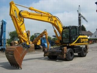 杰西博JS200W挖掘机