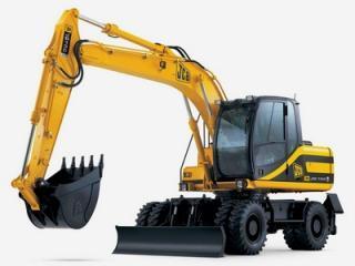 杰西博JS130W挖掘机