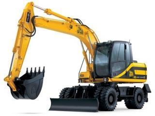 杰西博JS145W挖掘机