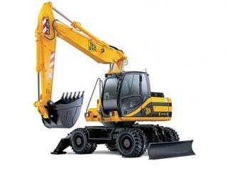 杰西博JS160W挖掘机