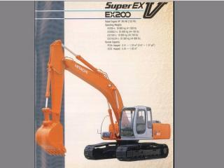 日立 EX200-5 挖掘机
