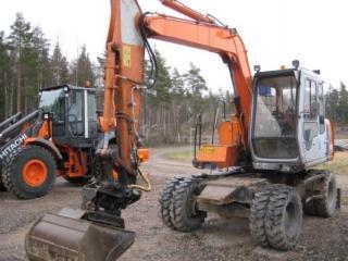 日立EX60WD-2挖掘机