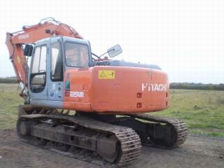 日立EX225USRLC挖掘机