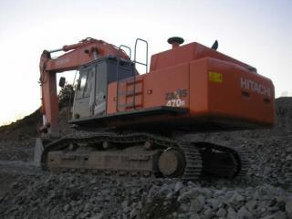 日立ZX470R-3挖掘机