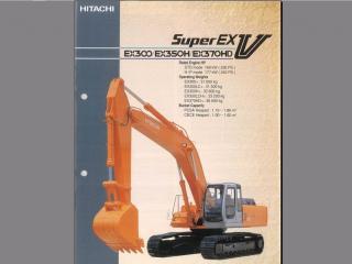 日立EX130H-5挖掘机