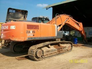 日立ZX350H挖掘机