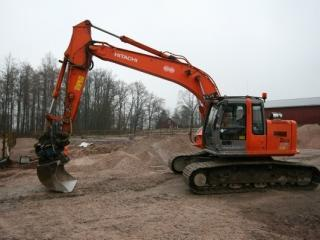 日立ZX225USR挖掘机