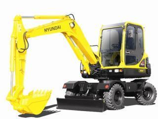 现代R55W-7挖掘机