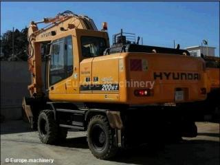 现代R200W-3挖掘机
