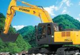 现代R250LC-7A挖掘机