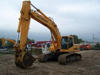 现代R360LC-7挖掘机