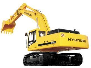 现代R450LC-7挖掘机