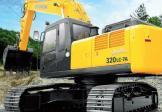 现代R320LC-7A挖掘机