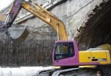 现代R290NLC-7挖掘机