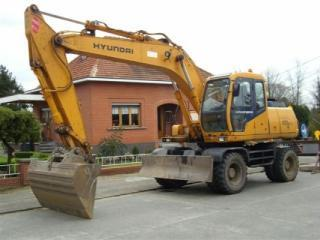 现代R170W-3挖掘机