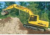 现代R290LC-7LR挖掘机