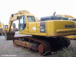 小松PC400-6正铲挖掘机