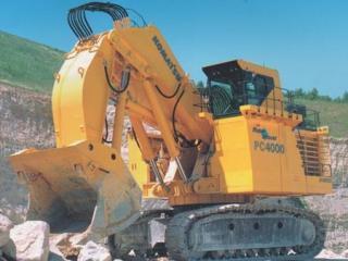 小松PC4000正铲挖掘机