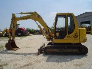 小松PC75-1挖掘机