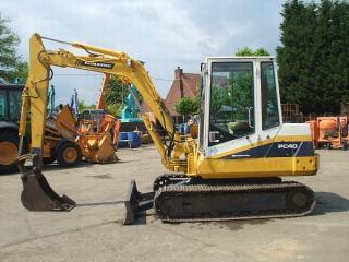 小松PC40-2挖掘机