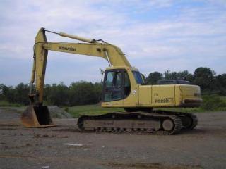 小松PC220-6EXCEL挖掘机