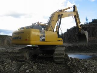 小松PC290LC-7挖掘机