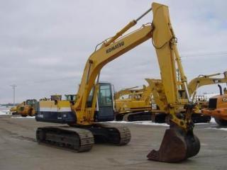 小松PC150-5挖掘机