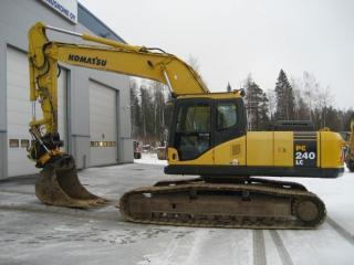 小松PC240LC-7SLF挖掘机