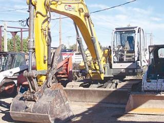 盖尔 1202 挖掘机