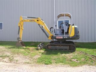 盖尔 373 挖掘机