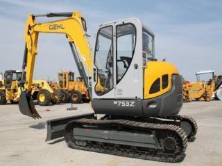 盖尔 753Z 挖掘机