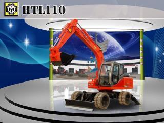 恒特重工HTL110挖掘机