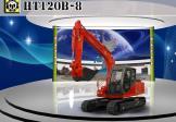 恒特重工HT120B-8挖掘机