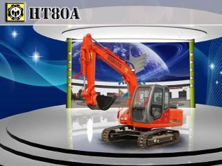 恒特重工 HT80A 挖掘机