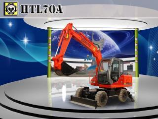 恒特重工HTL70A挖掘机