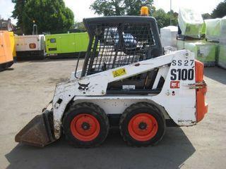 山猫 S100 滑移装载机