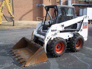 山猫 S150 滑移装载机