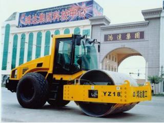 鸿达建工 YZC12 压路机