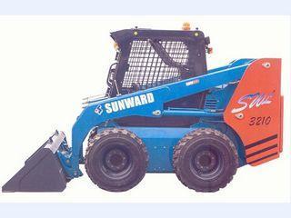 山河智能 SWL3210 滑移装载机