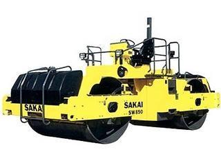 酒井 SW850 压路机
