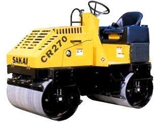 酒井 CR270 压路机