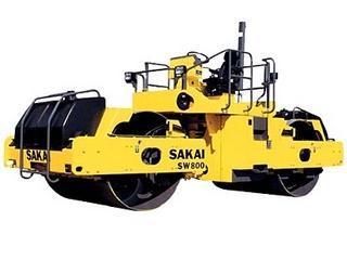 酒井 SW800 压路机