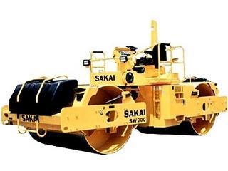 酒井 SW900 压路机