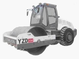 中联重科 YZD20A 压路机