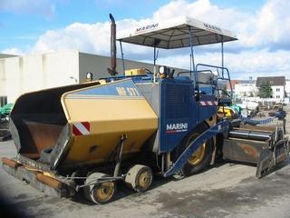 玛连尼 MF571HCE 沥青摊铺机
