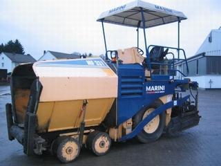玛连尼 MF331 沥青摊铺机